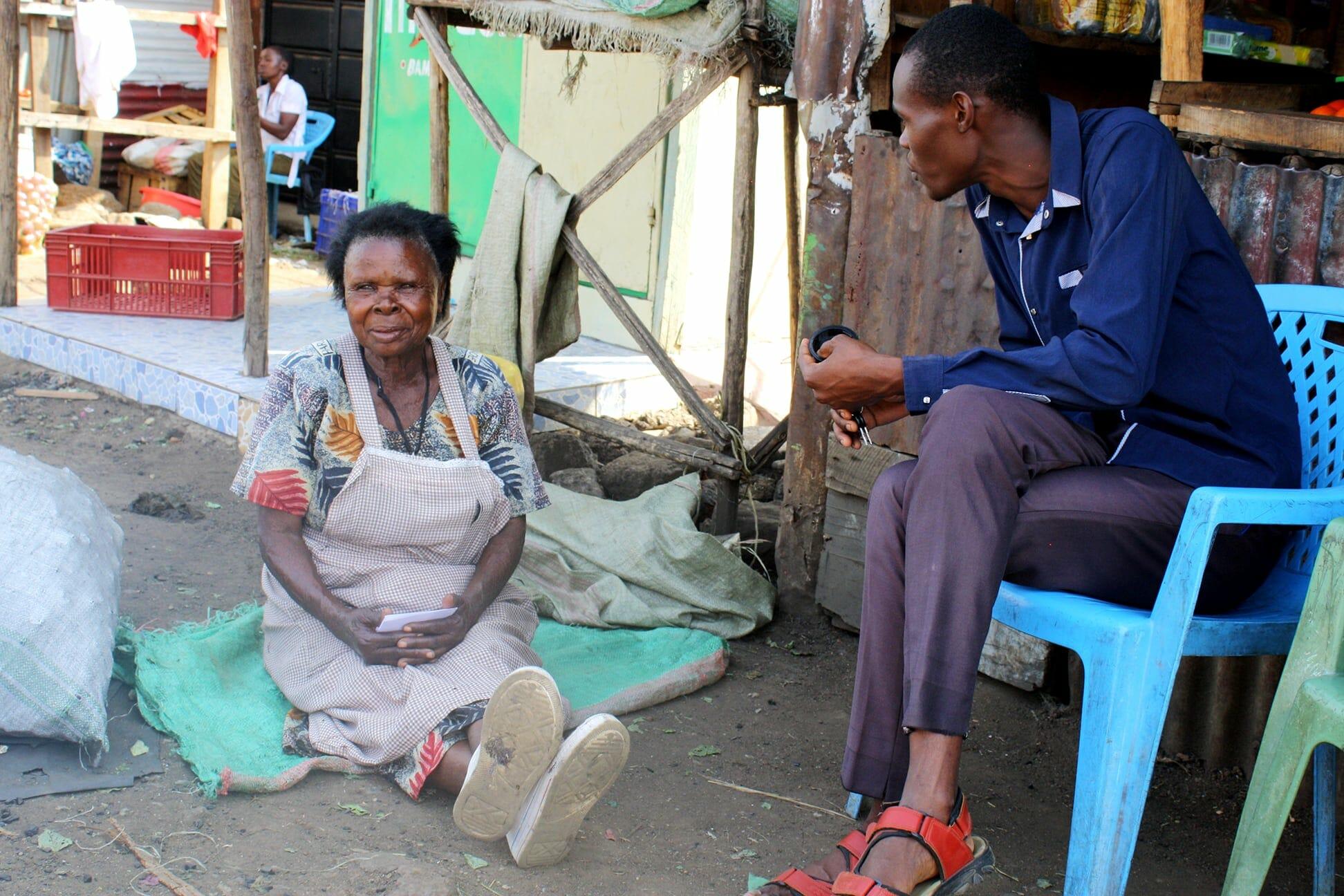 Gaudensia, a widow in Obunga