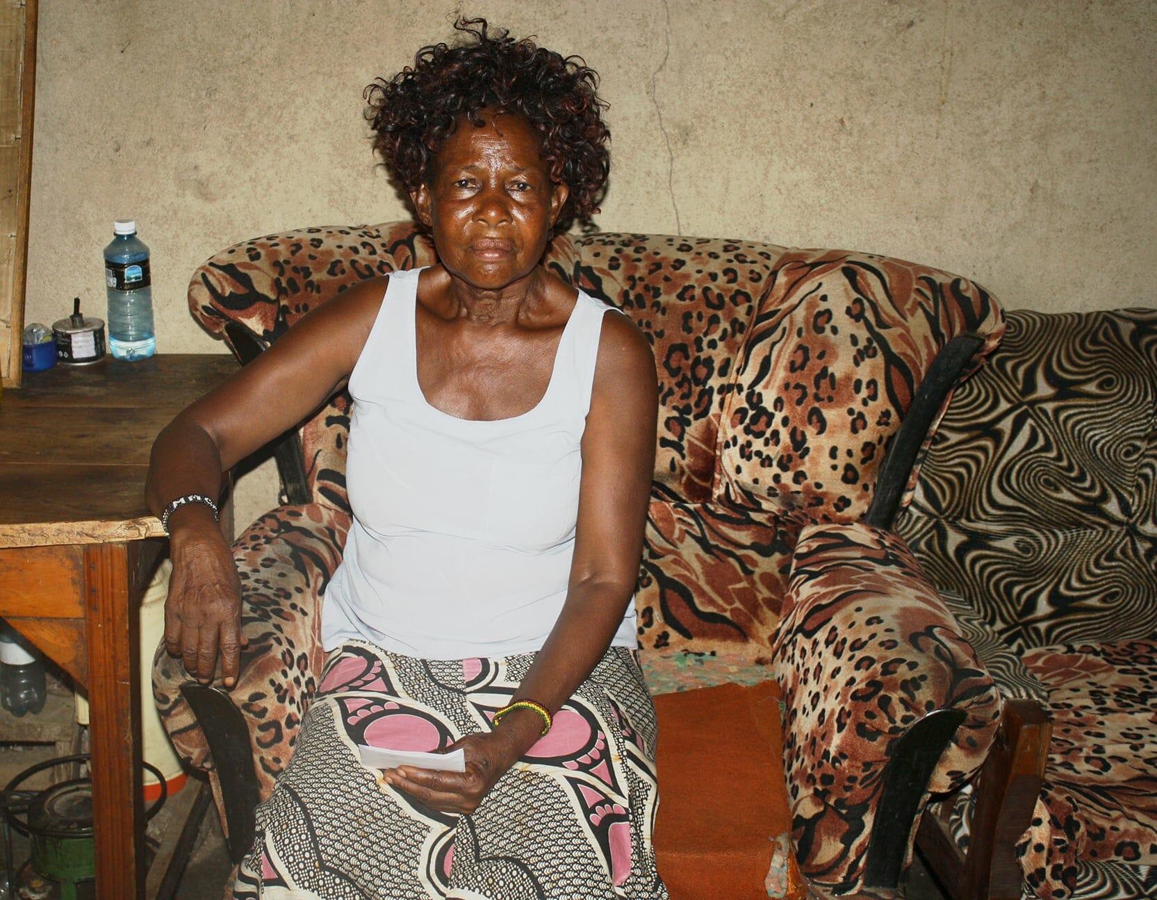 Margaret, a widow in Obunga